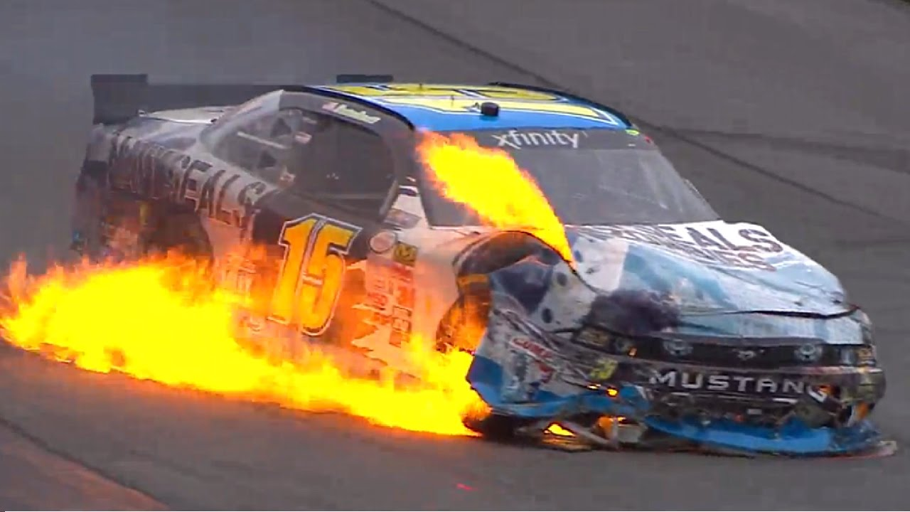 Funny Video: NASCAR's Wildest Fires