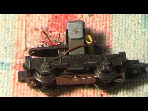 How-To On Servicing The DMU/EMU Power Bogie Motor. Hornby Triang.