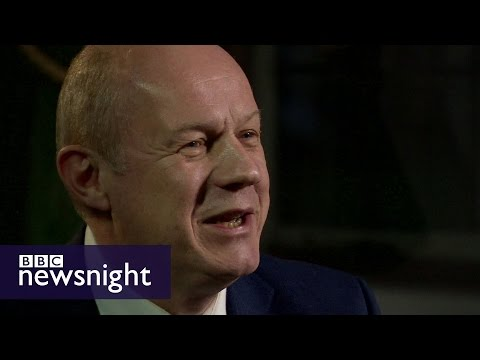 Damian Green on Theresa May's Brexit plan  - BBC Newsnight