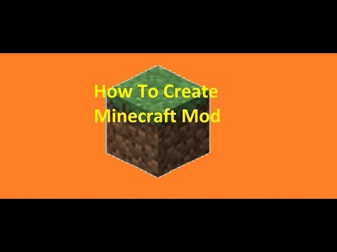 Minecraft How To Create Mod And Play (easy)