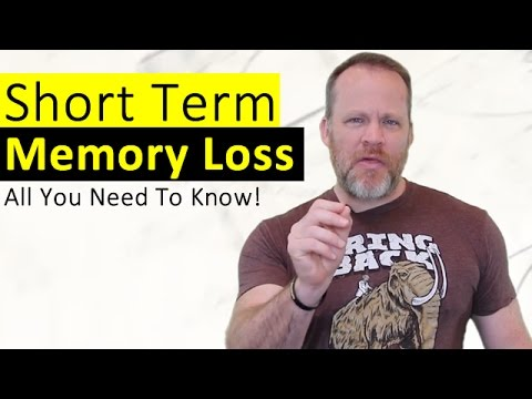Short Term Memory Loss - What It Is, What Causes It, and How To Prevent It