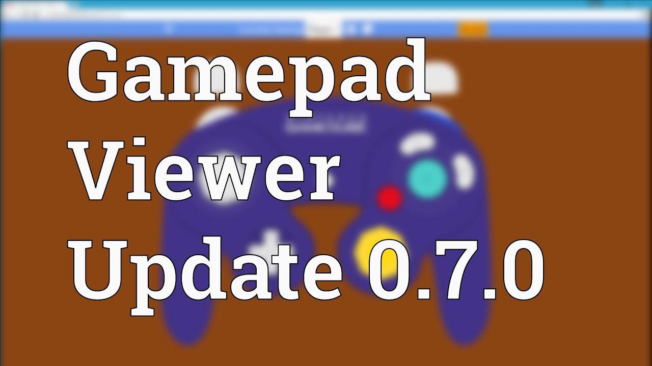 Gamepad Viewer