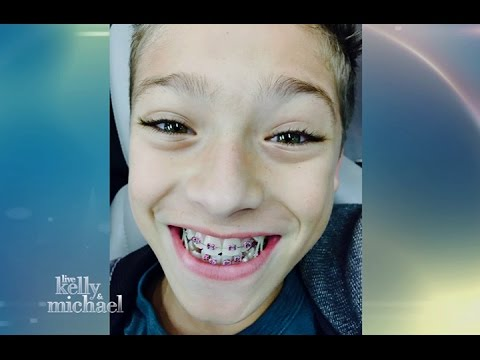 Kelly Ripa Takes Her Son Joaquin to Get Braces