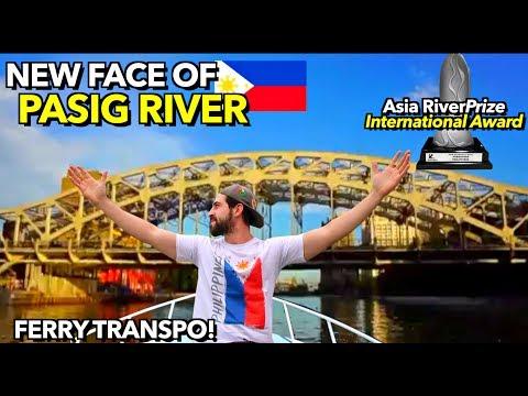 Patuloy ang PAGBANGON ng PILIPINAS! 🇵🇭 Pang WORLD TOUR na ang PASIG RIVER at may FERRY Transpo!