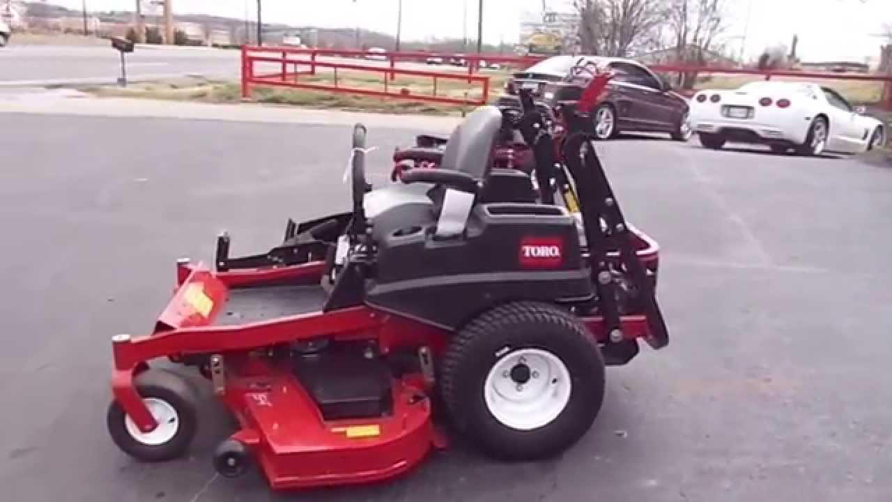 Toro 54 Quot Titan Mx5480 Zero Turn Lawn Mower With 23 Hp