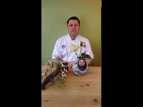 Robert Haynes y sus flores en azúcar, en Think in Cakes 2014!
