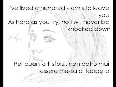 Adele Cover - Turning Tables with lyrics (testo + traduzione italiano)