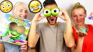 Fopp den Frosch mit Kaan, Nina und Kathi | Wer hat den Durchblick und findet die Fliege? |