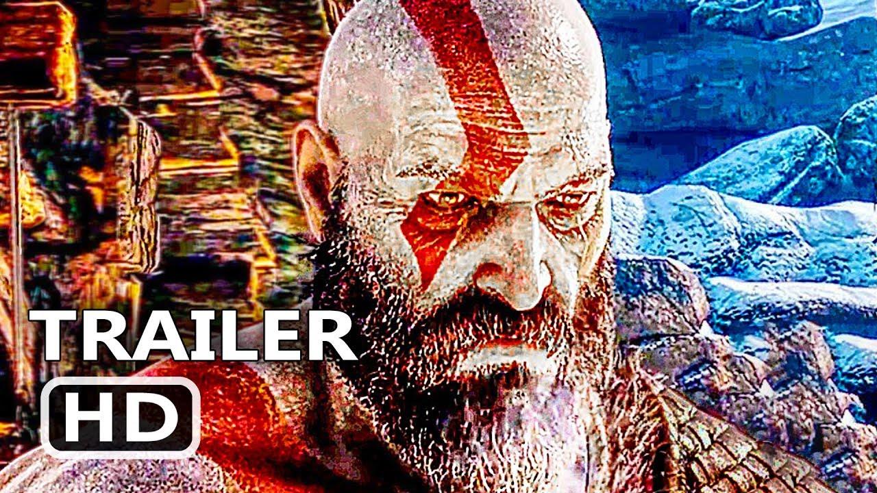 GOD OF WAR Official Final Trailer (2018) Action Game HD ...