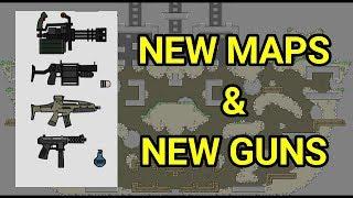 Mini Militia New Maps & New Guns SNEAK-PEAK