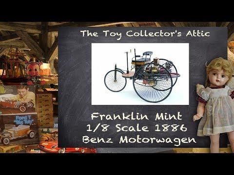Franklin Mint 1/8 scale Benz Patent-Motorwagen