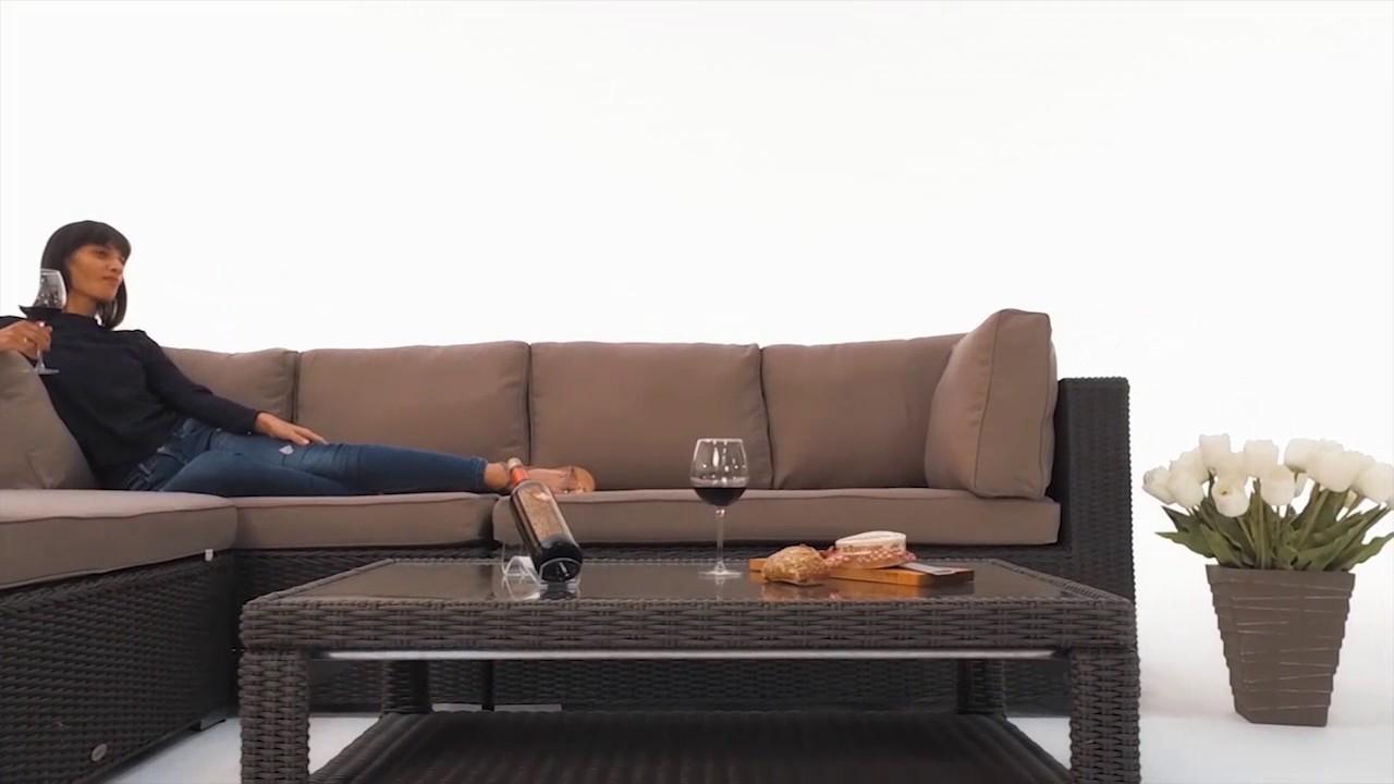 2017 Rattan Lounge Braun