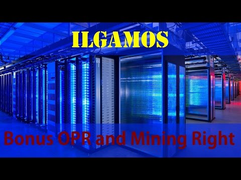 Bonus OPRs, Mining Rights and cryptocurrency ILCoin. (English) What to do and how