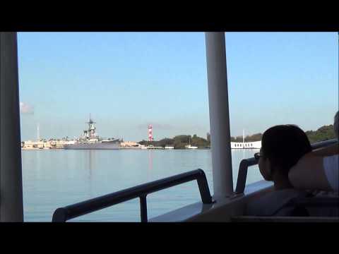 USS Arizona Battleship Memorial at Pearl Harbor Hawaii