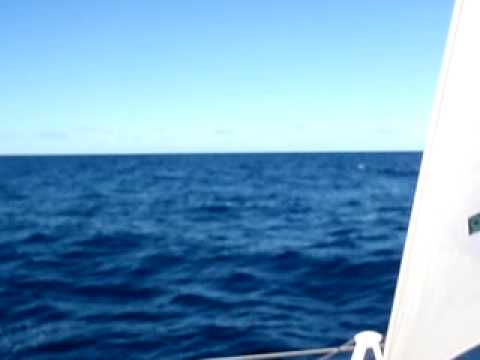 Sailing Toward Norfolk Island