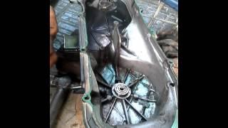 Cara melepas bearing pada cover v belt mio