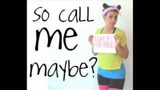 Call Me Maybe - Cimorelli LYRICS (: