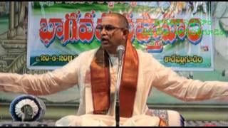 02 of 04 Bhagavata Saptaham at Tadepalligudem by Sri Chaganti Koteswara Rao garu