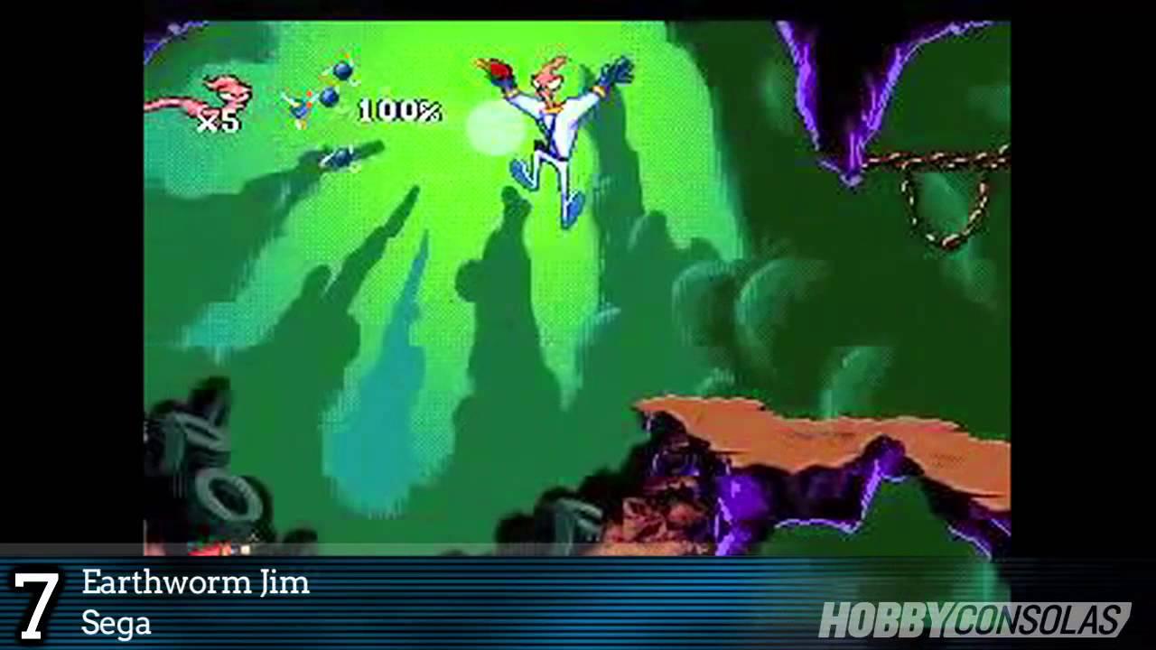 Los 20 Mejores Juegos De Mega Drive En Hobbyconsolas Com Youtube
