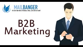 B to B marketing