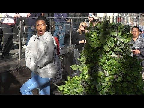 SWAMP MAN SCARES in Atlanta - Funny video -