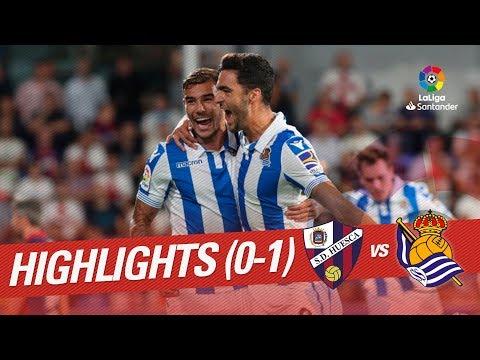Highlights SD Huesca vs Real Sociedad (0-1)