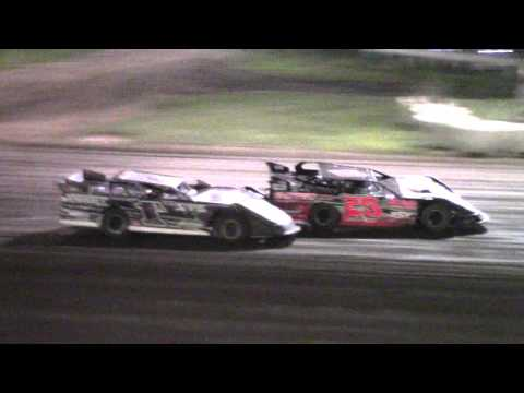 Farmer City Raceway Pro Late Model Heat 1, 9 17 15