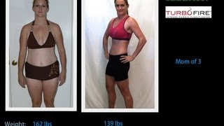Turbo Fire Results - Kate's Shakeology Transformation - Workout from makers of P90X