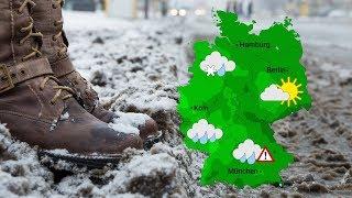 Wetter: Am Freitag Regen und Schnee (12.12.2019)