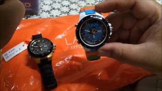 skmei 1016 black gold and multicolored watch from lazada ph