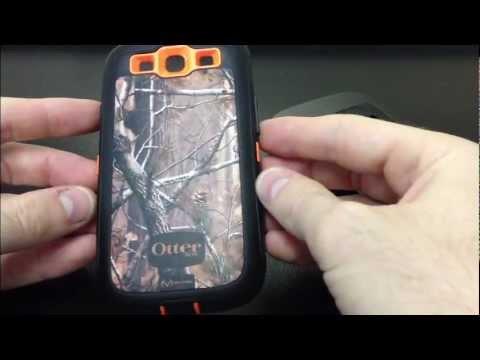 Samsung Galaxy S III L710 OtterBox Defender AP Blaze Camouflage 77-21384 Case