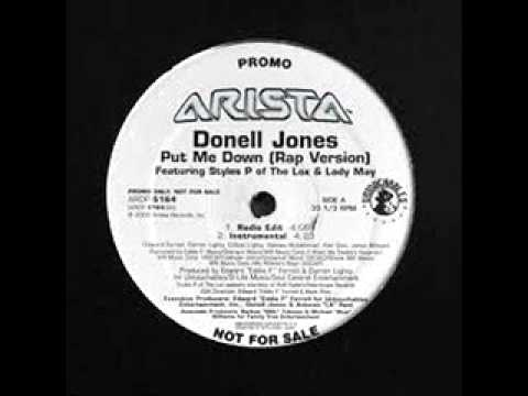 Donell Jones - Put Me Down (Clubmix)