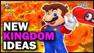 6 NEW Kingdom Ideas for Super Mario Odyssey
