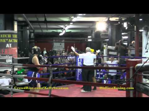 Kelly Swanson Fights for Charity at Gleason's Gym