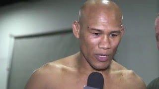 UFC 198: Jacare Souza Backstage Interview