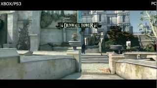 Dishonored Gameplay PC vs XBOX360 Comparison [HD] #6