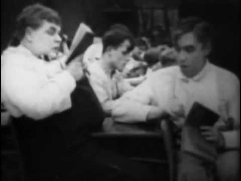 THE LITTLE TEACHER (1915) -- Mabel Normand, Mack Sennett, Roscoe Arbuckle, Owen Moore