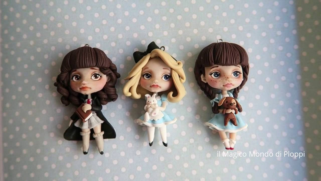 Bambole In Fimo Ispirate Alle Blythe! Dolls Clay   Ploppi   YouTube