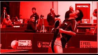 Bad behaviour in Table Tennis