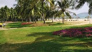 Пляж хайтенбей отель Минорка Хайнань в январе