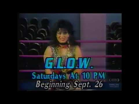 GLOW  Television Commercial  1987  Gorgeous Ladies Of Wrestling