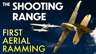 THE SHOOTING RANGE #136: First aerial ramming / War Thunder