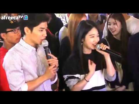 051416 - 디아크 (The Ark) Yuna Kim (유나 킴) on AfreecaTV