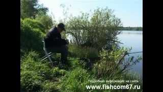 Ловля матчевой удочкой в мае 1(http://fishcom67.ru В этом видео ролике вы увидите весеннюю ловлю на матчевую удочку и немного фидера.Часть 1., 2013-03-22T04:59:43.000Z)