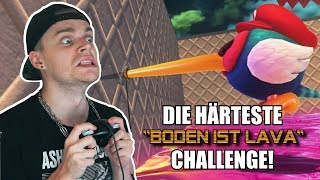 "IMPOSSIBLE ""Boden ist Lava""-CHALLENGE!"