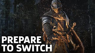 Dark Souls Remastered Nintendo Switch Gameplay: Prepare To Die