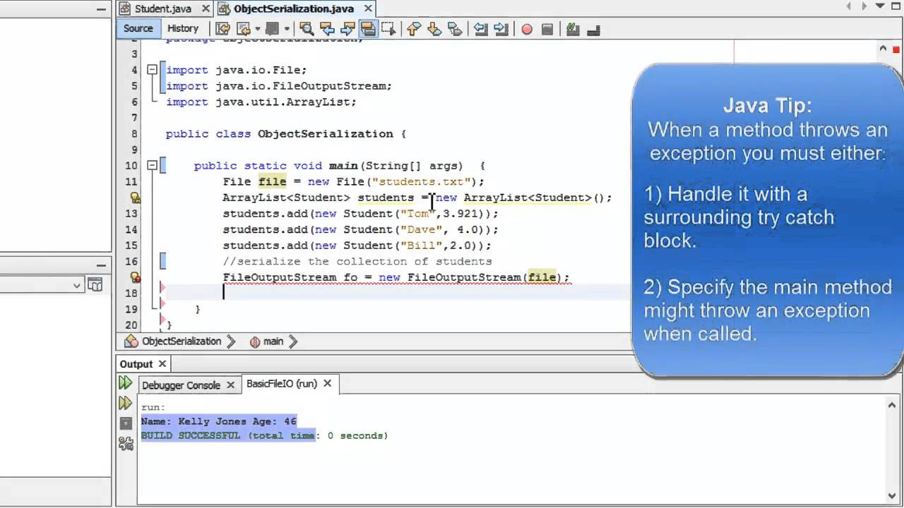 java write to text file In the last tutorial, you have learned about how to write data to a file in java and in this tutorial you will learn how to append text to a file in java.