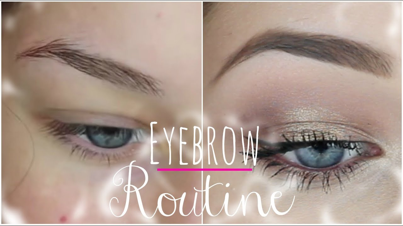 How To: Fill In Your Eyebrows | My Eyebrow Routine