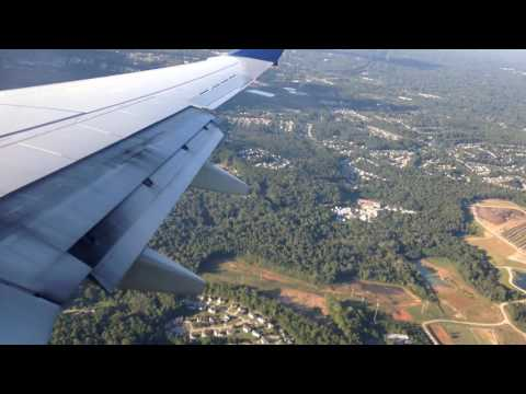 Atlanta, Georgia - Landing at Hartsfield–Jackson Atlanta International Airport HD (2016)