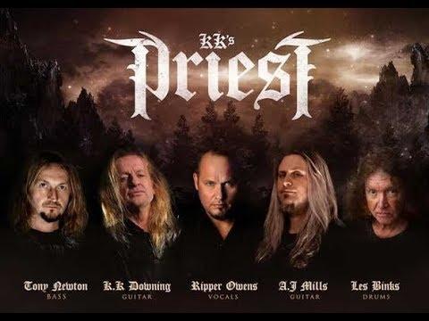 Judas Priest's K.K. Downing forms new band w/ ex-Priest members KK's Priest ..!